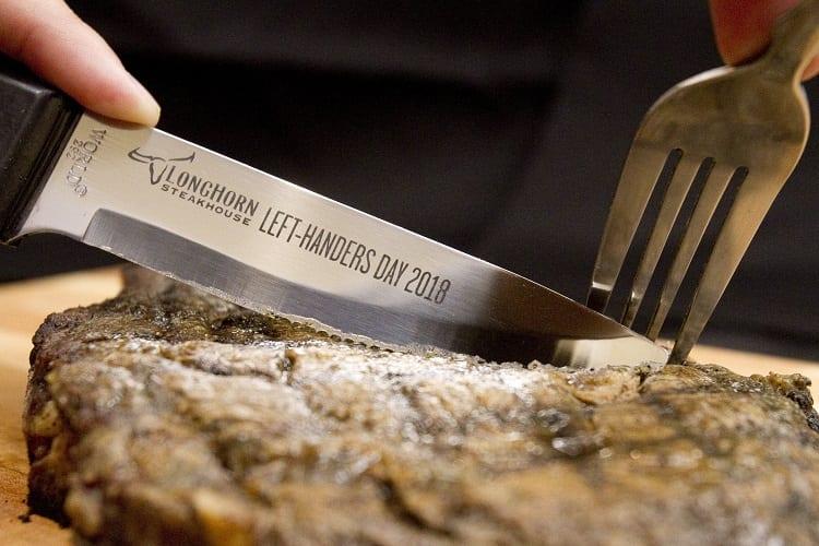Using Steak Knife