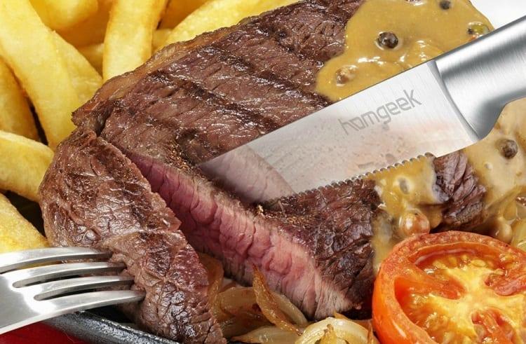 Using Serrated Steak Knife