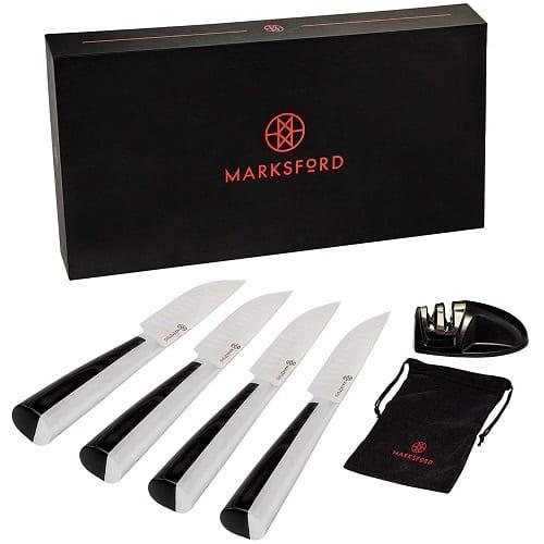 Steak Knives Set of 4 by MARKSFORD