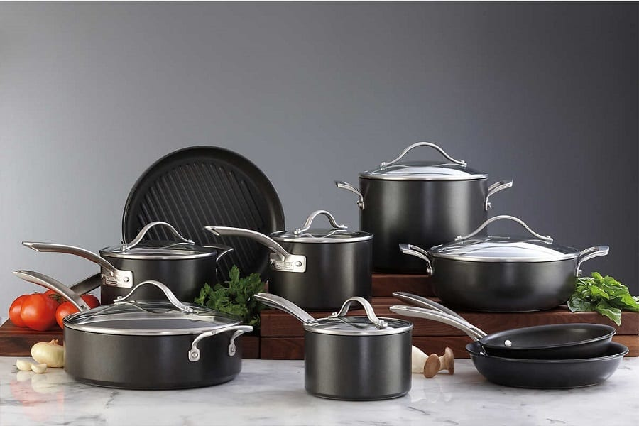 Best Hard Anodized Cookware Set For 2020