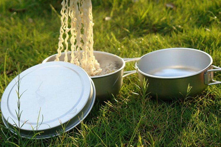 Cooking In Camping Cookware