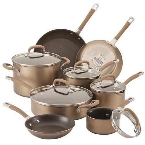 Circulon Premier Professional 13-piece Hard-anodized Cookware Set