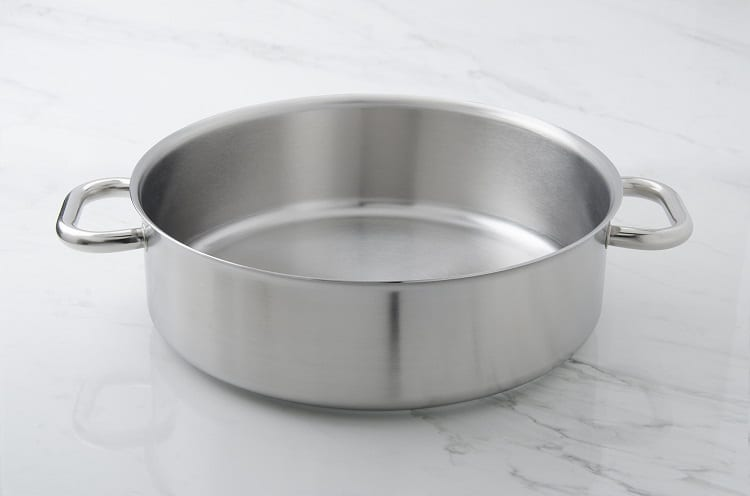 Stainless Steel Rondeau Pan