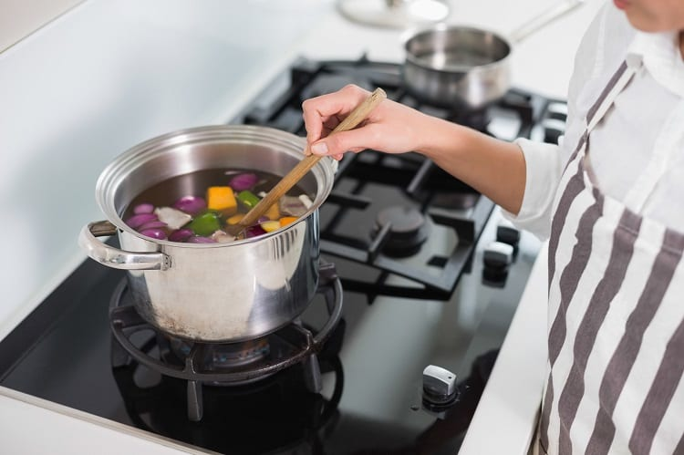 Cooking With Stainless Steel