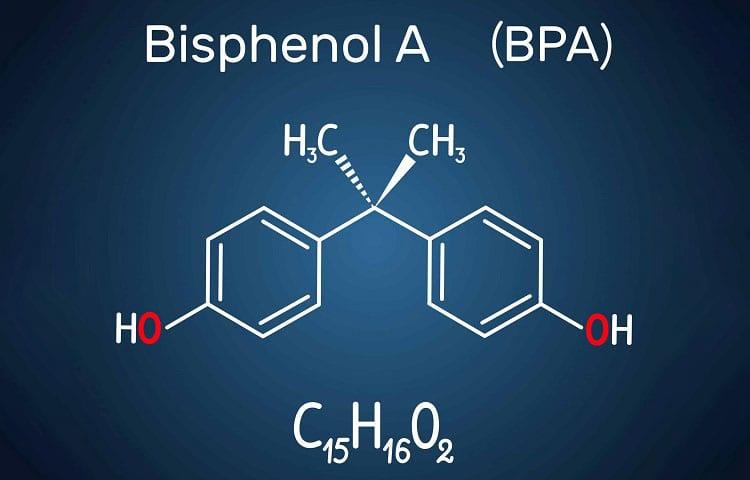 Bisphenol A Molecule Structure