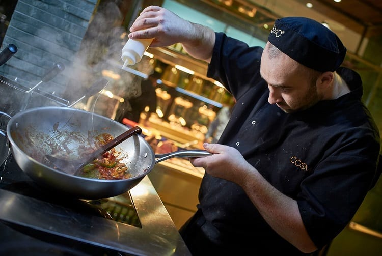 Cooking In Wok