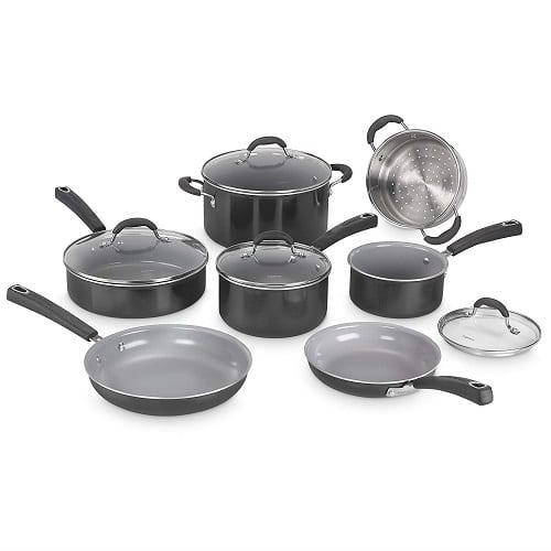 Cuisinart 54C-11BK Advantage Ceramica XT Cookware Set